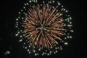 箕郷の花火